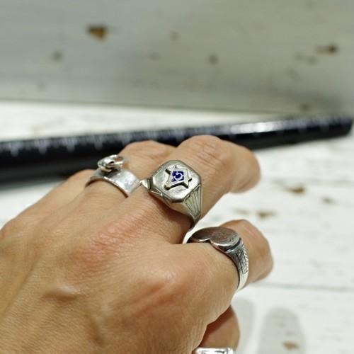 メイソニック リング / Vintage Free Mason Ring / Silver