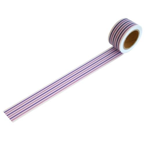 キャンディパープルmini(25mm×5m巻・強粘着)RYJ-25 デザイン養生テープ