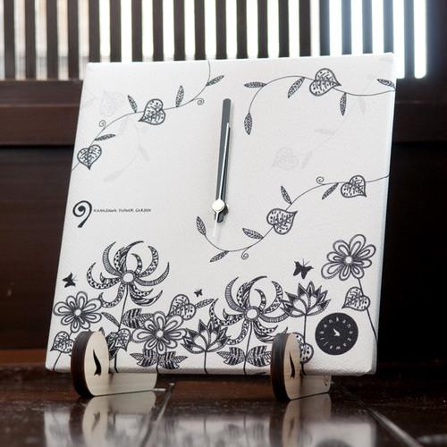KANAZAWA FLOWER GARDEN(布時計・スタンド付)
