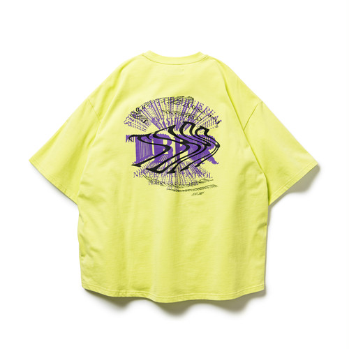 TIGHTBOOTH DUPLICATION S/S T-SHIRT LIME