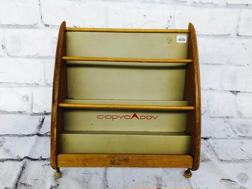 品番1799 マガジンラック マガジンスタンド ロータイプ 木製 COPYCADDY インテリア ディスプレイ アンティーク