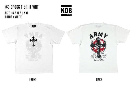 (R) CROSS T-shirt WHT