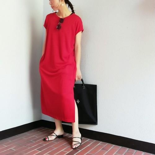 Odour(Linen Jersey Dress)