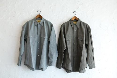 SEVEN BY SEVEN 別注タックシャツ