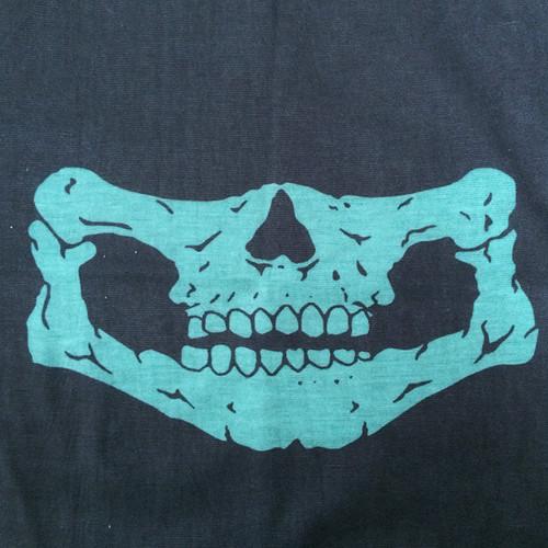 フェイスマスク マスク MASK スカル 防寒着 ガイコツ 骸骨 髑髏 ドクロ ロック バイカー 1575