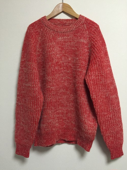 used red sweater