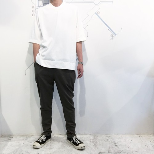 FIRMUM 【フィルマム】 COTTON POLYESTER 2WAY STRETCH TWILL slim tapered pants