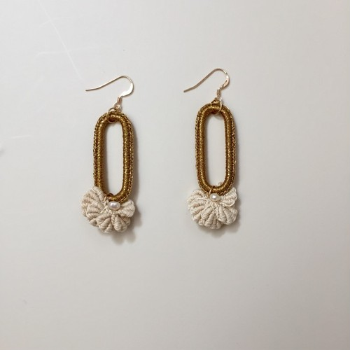 "専用ページ ""abc"" Swan EARRINGS -un-"