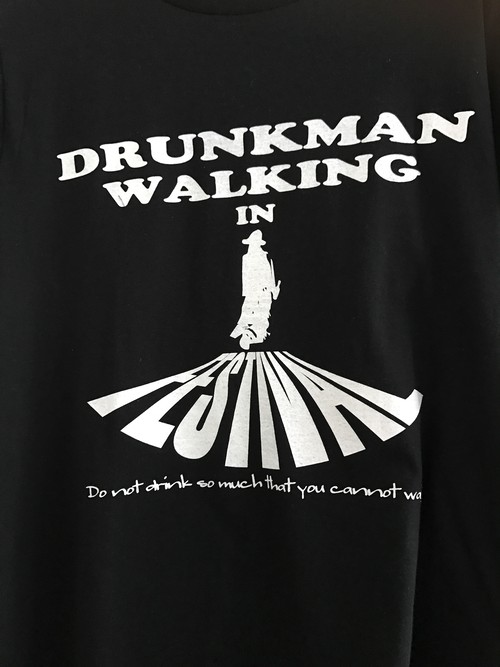 Drunkmam Walking in Festival Tシャツ