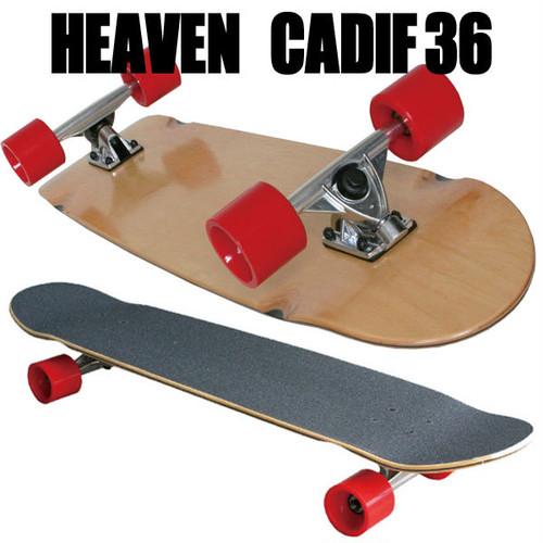 ヘブン ロングスケートボード CARDIF36