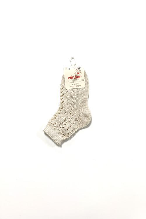 condor Pearl openworks short socks kids
