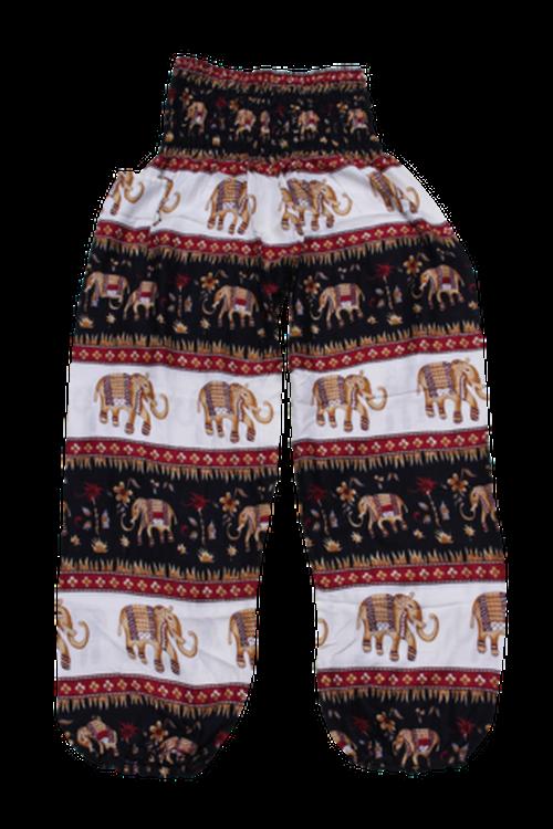 キングアショーカハーレムパンツ King Ashoka Elephant Harem Pants