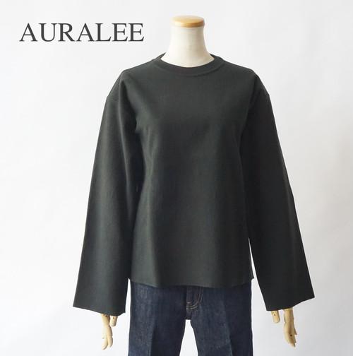 AURALEE/オーラリー ・SUPER MILLED SWEAT CUT-OFF P/O