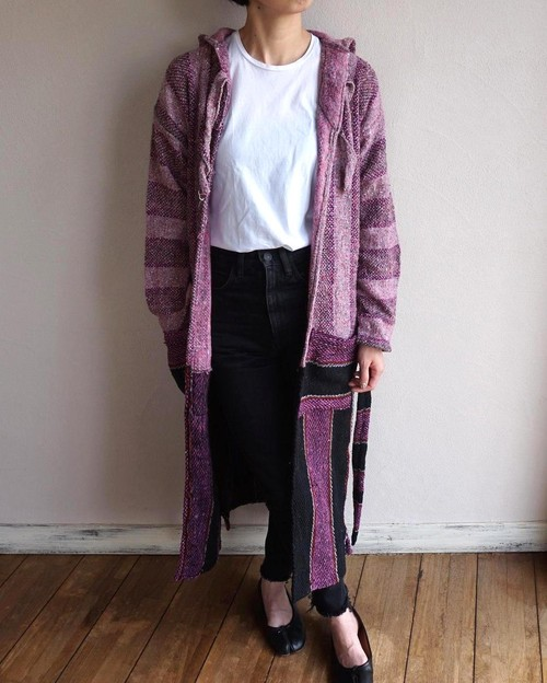 """BAJA ROBE"" Pink×Purple size:Women's Free"