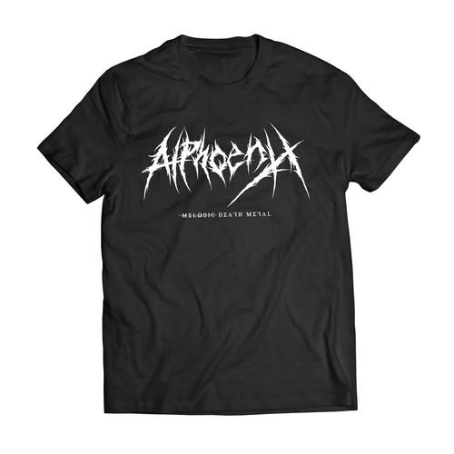 "Alphoenix ""Brutal Logo"" BLACK T-Shirt"