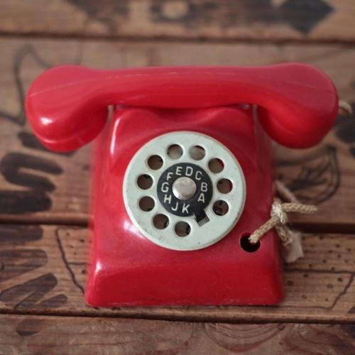 ドイツ ヴィンテージ 赤い電話