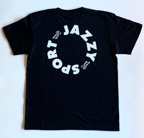"""【ラスト1/京都店限定】JS """"Circle"""" ロゴ Tシャツ/ブラック"""