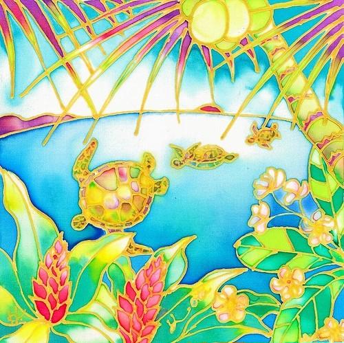 原画 Colorful tropics 7