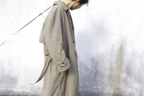 """NEWPORT HARBOR"" Long Bal-Collar Coat"