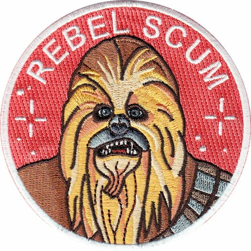 "labarbuda""LIMITED EDITION CHEWBACCA FAN ART PATCH """