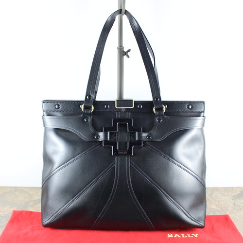 .BALLY LEATHER TOTE BAG/バリーレザートートバッグ2000000050546