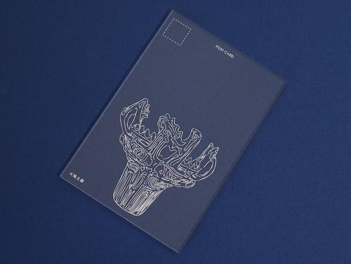 アクリルのポストカード -nagaoka- 火焔土器