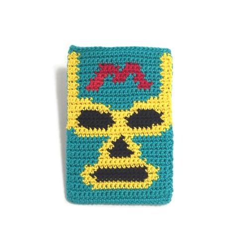 PWレスラーのカードケース(Green)