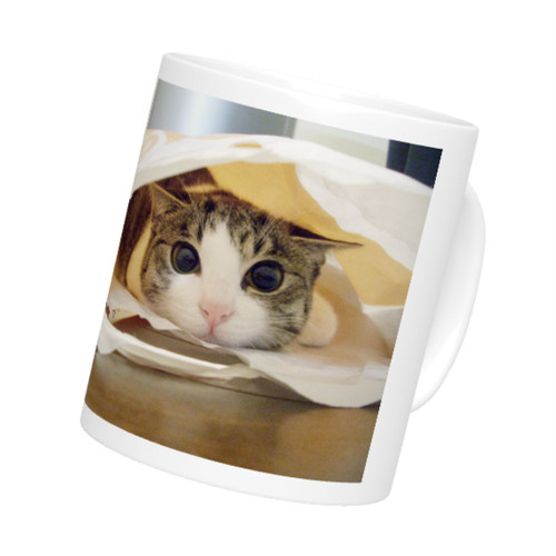 定番マグカップ 直径8x高さ9.5(cm) たれジェリー(The Cat who.... ザ・キャット・フー 猫 ねこ ネコ ラッピング可能商品 贈り物 プレゼント ギフト GIFT)