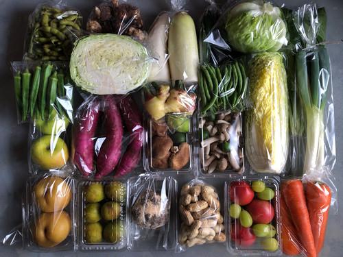 京野菜セットC+精米2kg