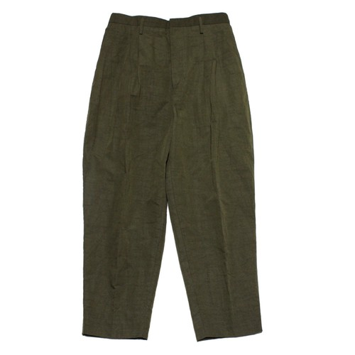 Tuck Tapered Pants -olive <LSD-AI1P4>
