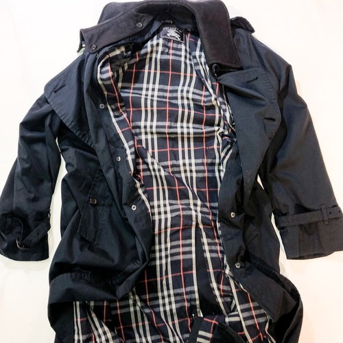 old Burberry's trench coat