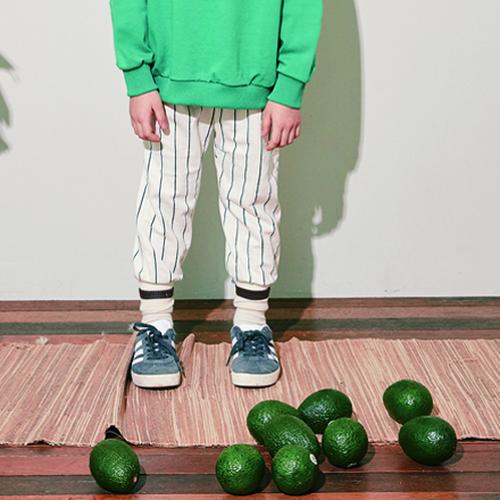 50%OFF ¥3,996→¥1,998 MERCIU Stripe Jogger Pants(80cm〜120cmサイズ展開)