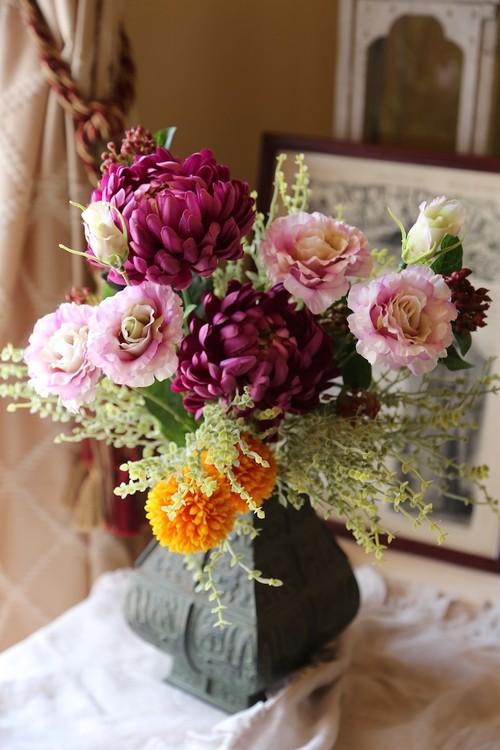 花材 仏花に、お部屋に