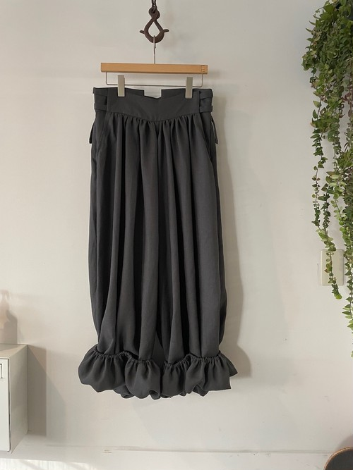 Aquvii / 別注 Big Gather Pants