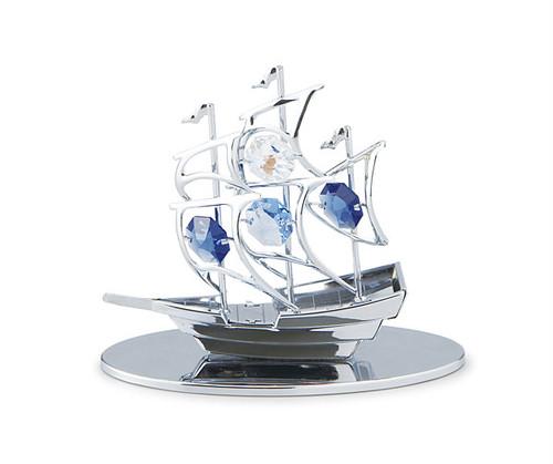 クリストクラフト CRYSTOCRAFT 帆船 850-605 シルバー