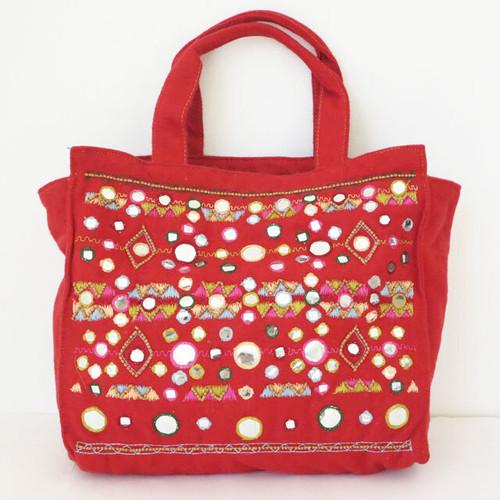 ANTIK BATIK フェルト刺繍デザインバッグ:ANT-01 ¥18,000+tax