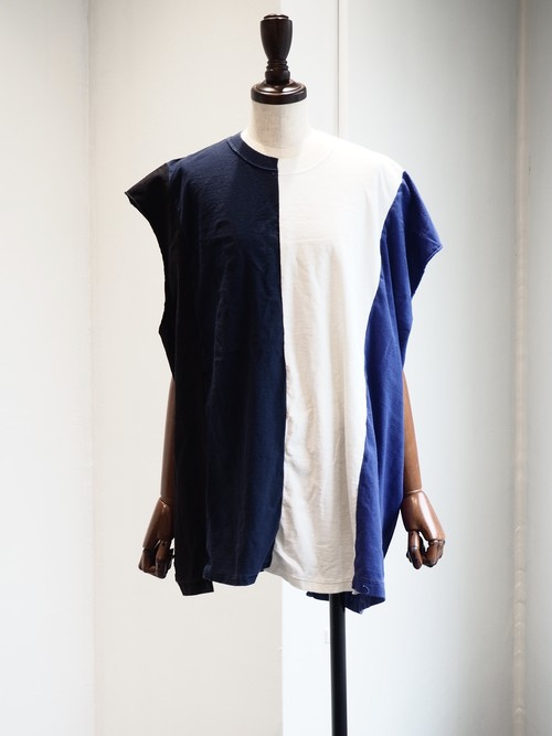 【BONUM】REMAKE NO SLEEVE TOPS
