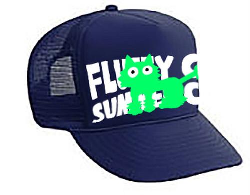 ボールキャップ 「FLUFFY CAT SUMMER CUT」