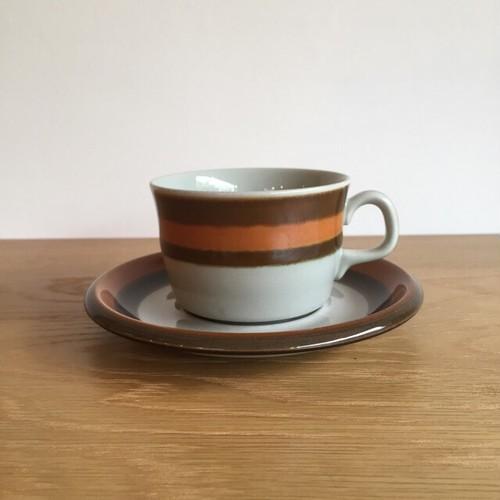 【北欧ヴィンテージ雑貨】RORSTRAND Annika cup&saucer 【A】 ロールストランド アニカ 【A】