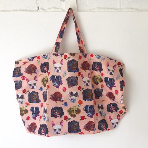 Nathalie Lete Pocketable Eco Bag Dog ナタリーレテ エコバッグ イヌ 犬