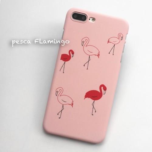 iPhoneケース 人気 かわいい フラミンゴ 夏 デザイン ピンク ハワイアン