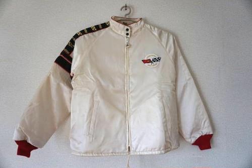 【全国送料無料!】ヴィンテージレーシングジャケット(CORVETTE)