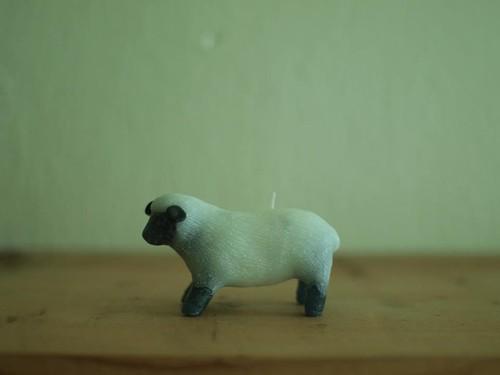 手づくりキャンドル「羊」