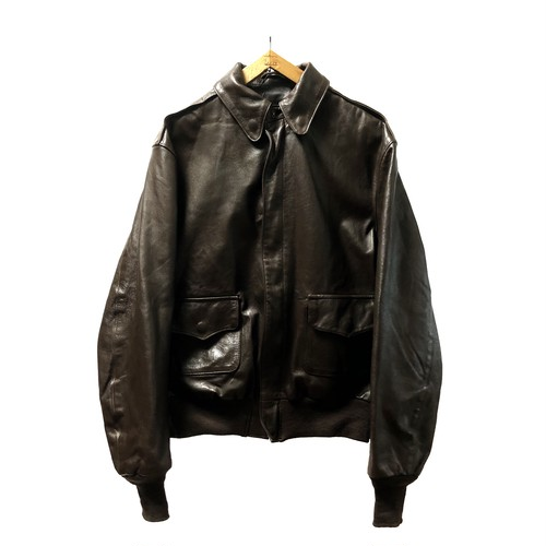 """80's """"WILLIS&GEIGER"""" A2 TYPE LEATHER JKT"""