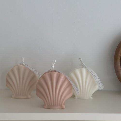 vintage shell candle 6colors / ヴィンテージシェルキャンドル 貝殻 韓国