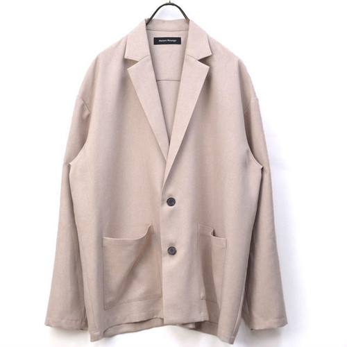Tailored Shirts Jacket  Beige