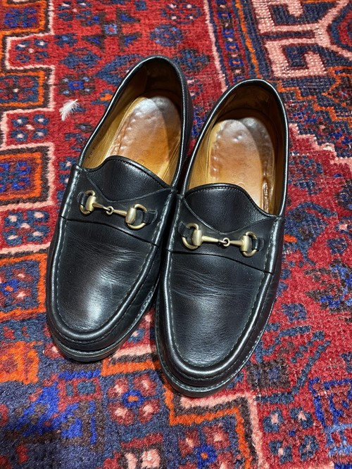 .GUCCI LEATHER HORSE BIT LOAFER MADE IN ITALY/グッチレザーホースビットローファー 2000000048949