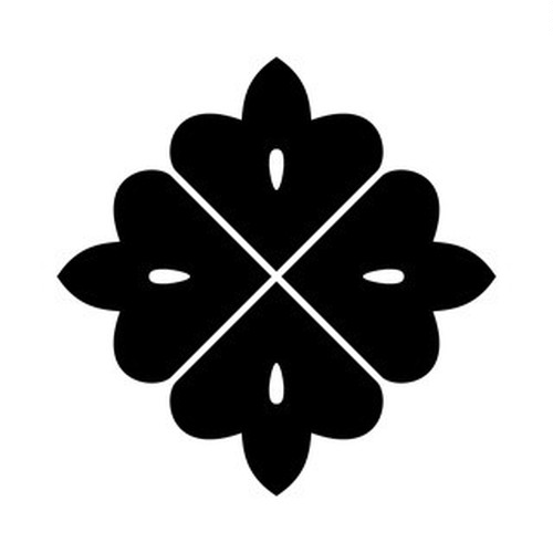 四つ目形花角 高解像度画像セット