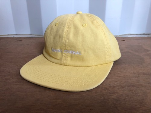 BANKS JOURNAL CAP (yellow)