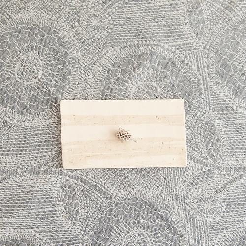 板皿 白×白荒土(小)